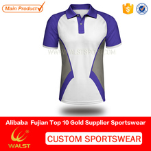 Custom Design Sublimated jersey designs for badminton for company team