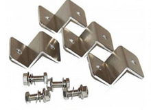 Z bend & L bend Metal marble angle brackets