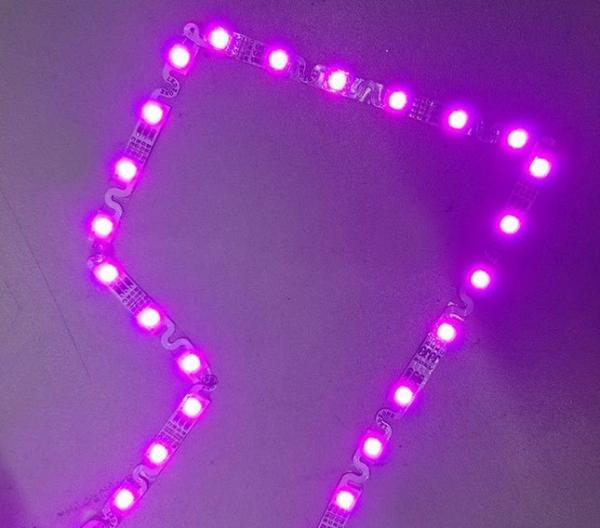 s shape Cheapest 151 resistor smd smallest led light strip prices factory manuafacturer supplier