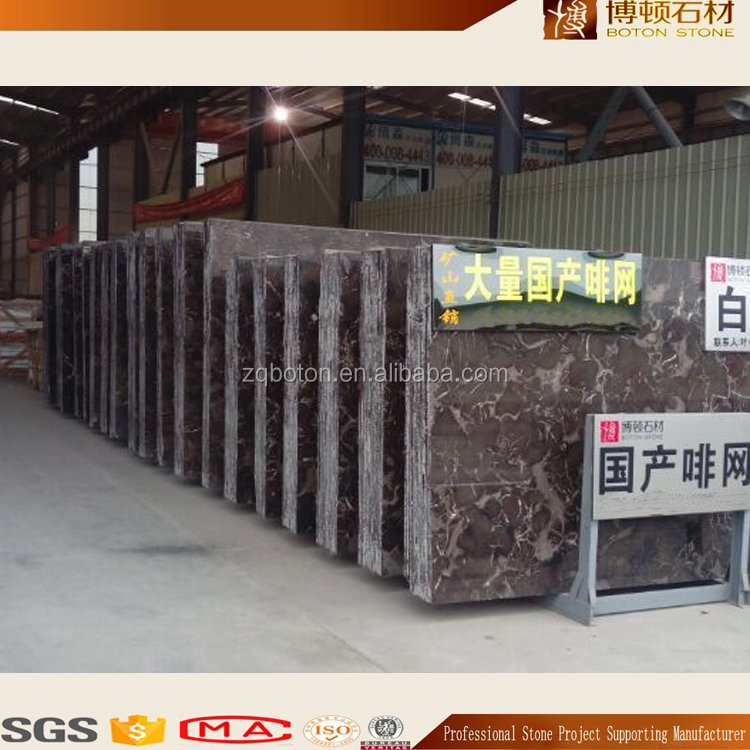 Direct Quarry Natural Stone Cheap Chinese Dark Emperador Marble Slabs