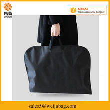 Fashion simple travel foldable garment packaging bag suit cover bag