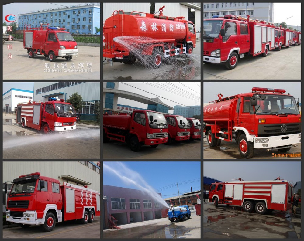 Best Quality Dongfeng 4x2 Fire fighting Water Truck 190hp Water foam Tank Emergency rescue truck