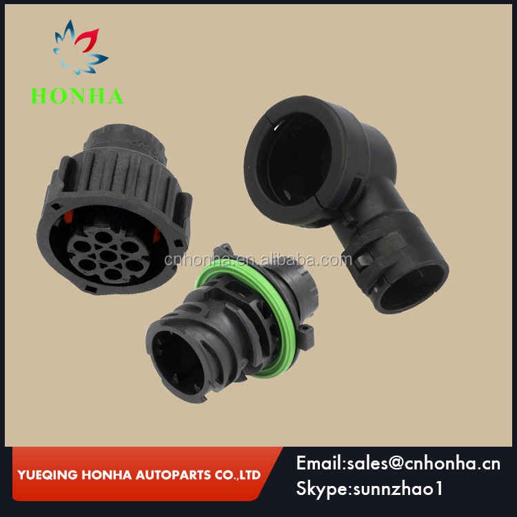 7 Pin 1718230 967650-1 965783-1 Auto Sensor Plug Waterproof Electrical Wire Connector For Car Oil Exploration Railway