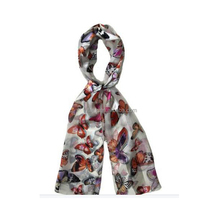 Women High Quality butterfly pattern scarf