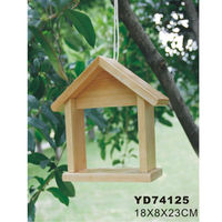 Small wood crafts bird house