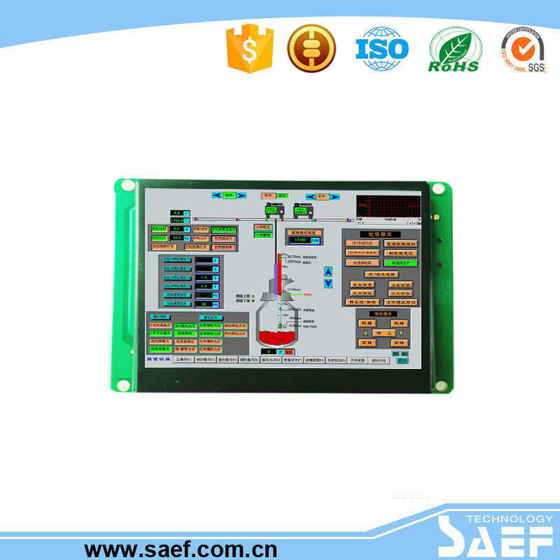 HMI 3.5 inch TFT LCD Module with RS232/TTL/USB port LED backlight for home application