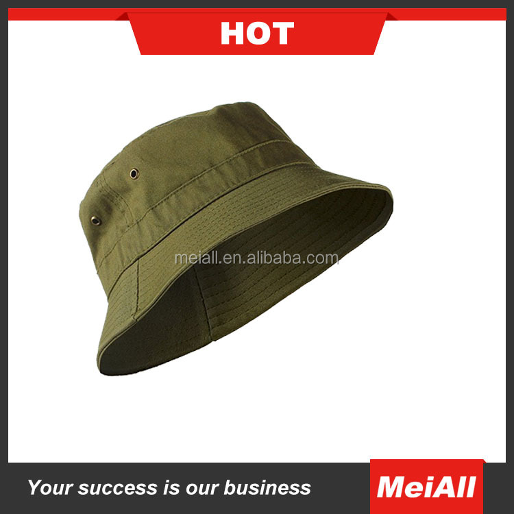 Custom Plain White Polo Cotton Bucket Hat Wholesale