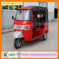 China Supplier 2013 New Design Best Price Bajaj Three Wheel e Rickshaw Manufacturers for Sale