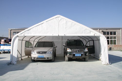 China Supplier 2 Cars Plastic Portable Shelter/Garage/Canopy