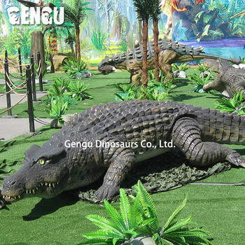 Outdoor high quality amusement park animatronic animals