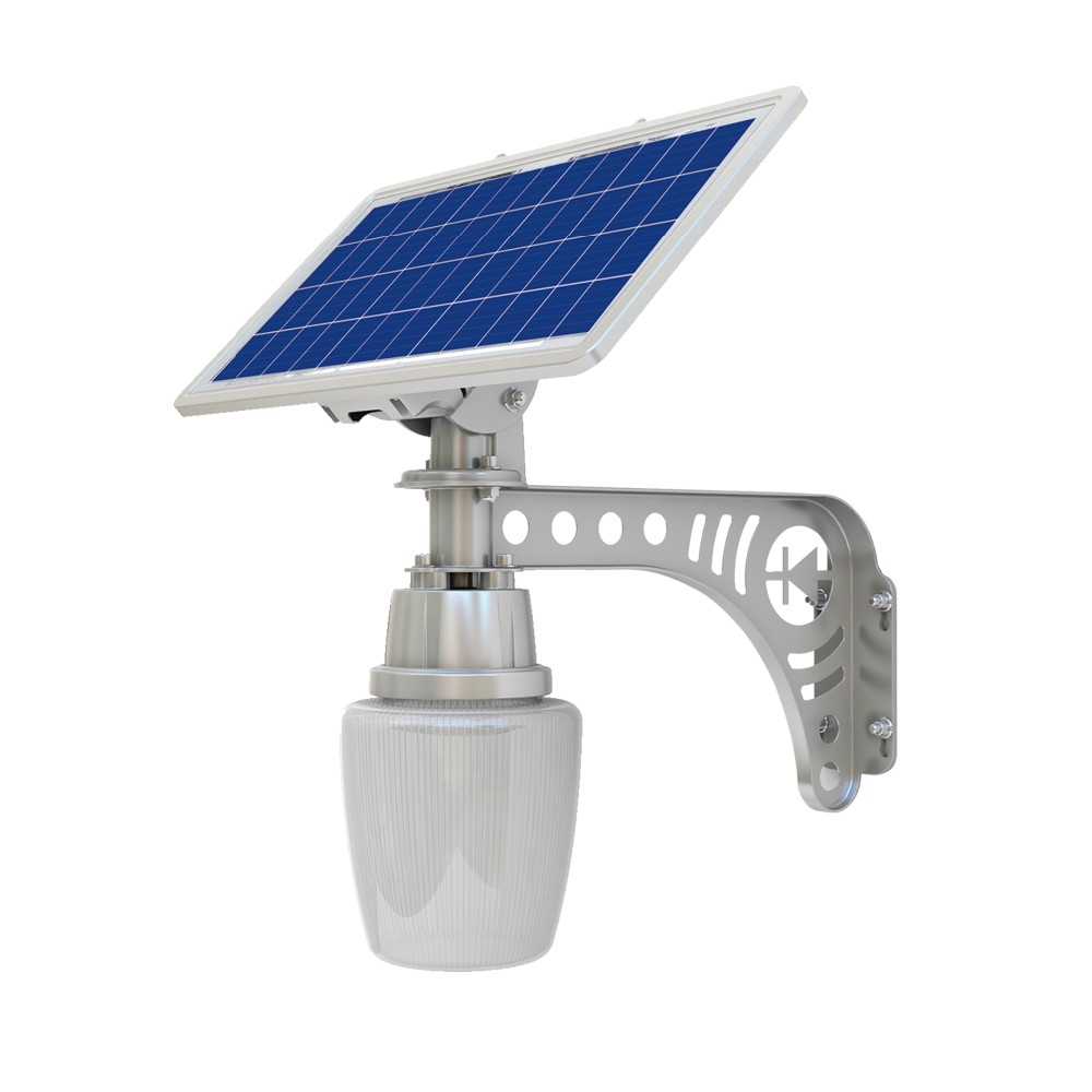 Solar Wall Pack Led Garden Light 5 W