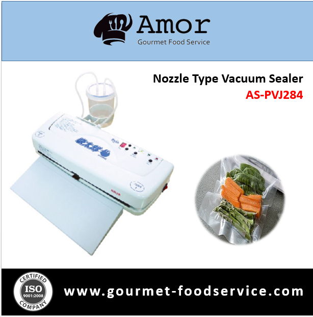 Hot selling nozzle type vacuum sealer for industry
