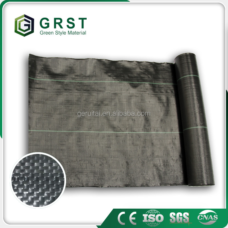 Wholesale tree weed control mat polypropylene woven fabric