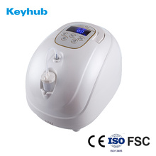 Small portable home use oxygen concentrator generator