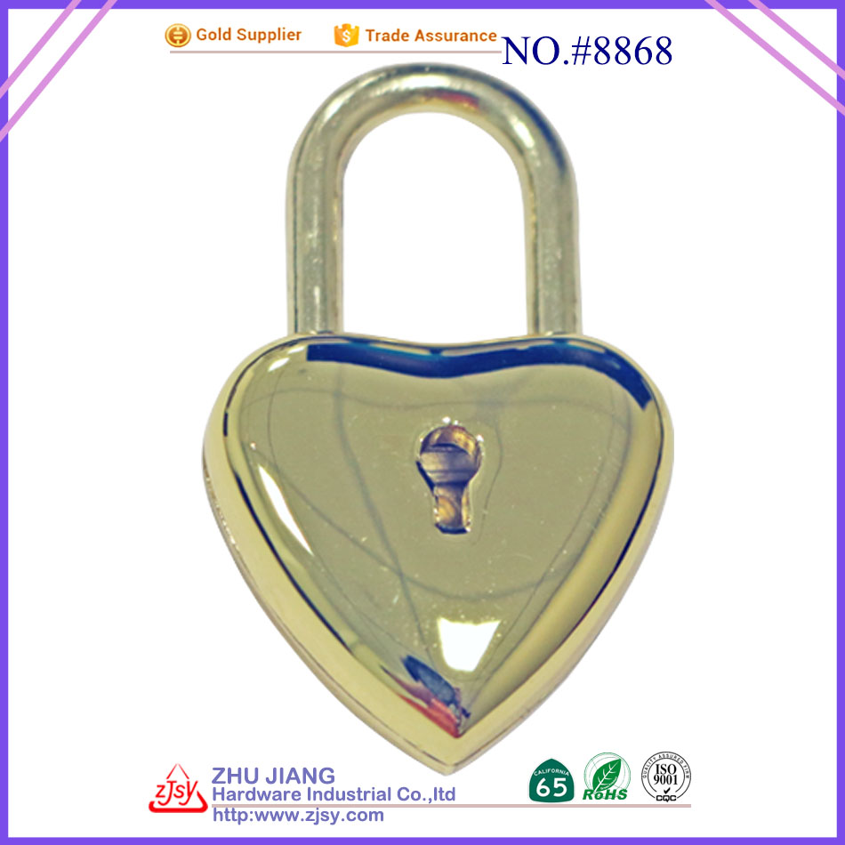 Mini Heart Shaped Padlock Wholesale