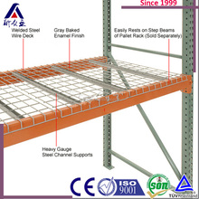 OEM Service High Density And Heavy Duty Ware House shelf as wire mesh decking Rack