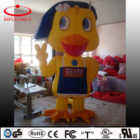 Advertising inflatable decoration cartoon, advertising inflatable duck
