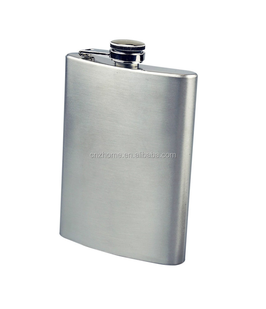8oz Classic Stainless Steel Hip Flask