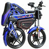 new design high quality competitive price Chinese 50cc folding chopper motorcycle with multifuction
