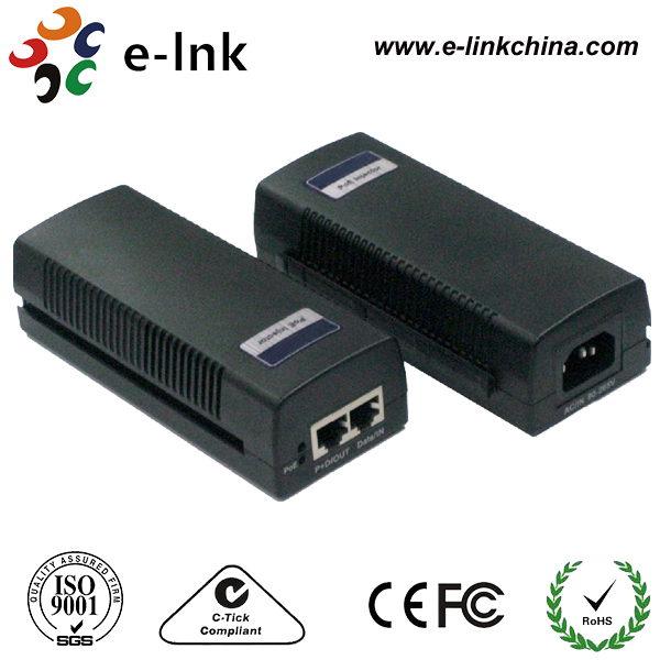 Gigabit PoE Adapter, Supports Long Distance for Data Transmission PoE Adapter Manufacturer