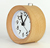Wooden alarm clock with back light