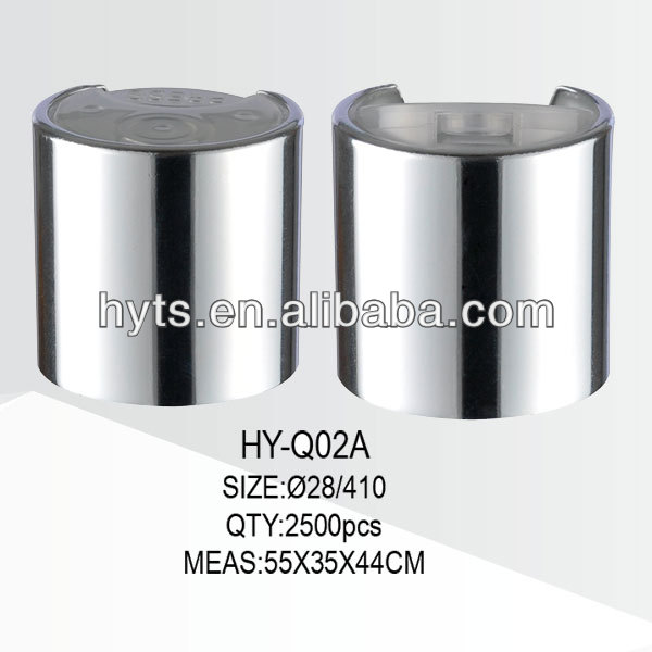 28/410 disc top cap aluminum closure