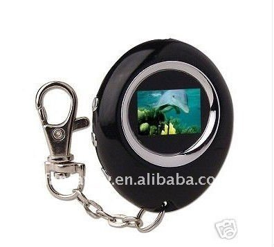 "HOT! new year gift 2012 1.1"" key chain LCD digital photo picture frame"