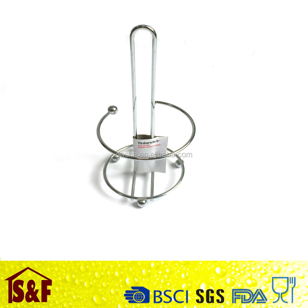 High Quality Kitchen Hotel Office School Metal Chrome Paper Towel Holder