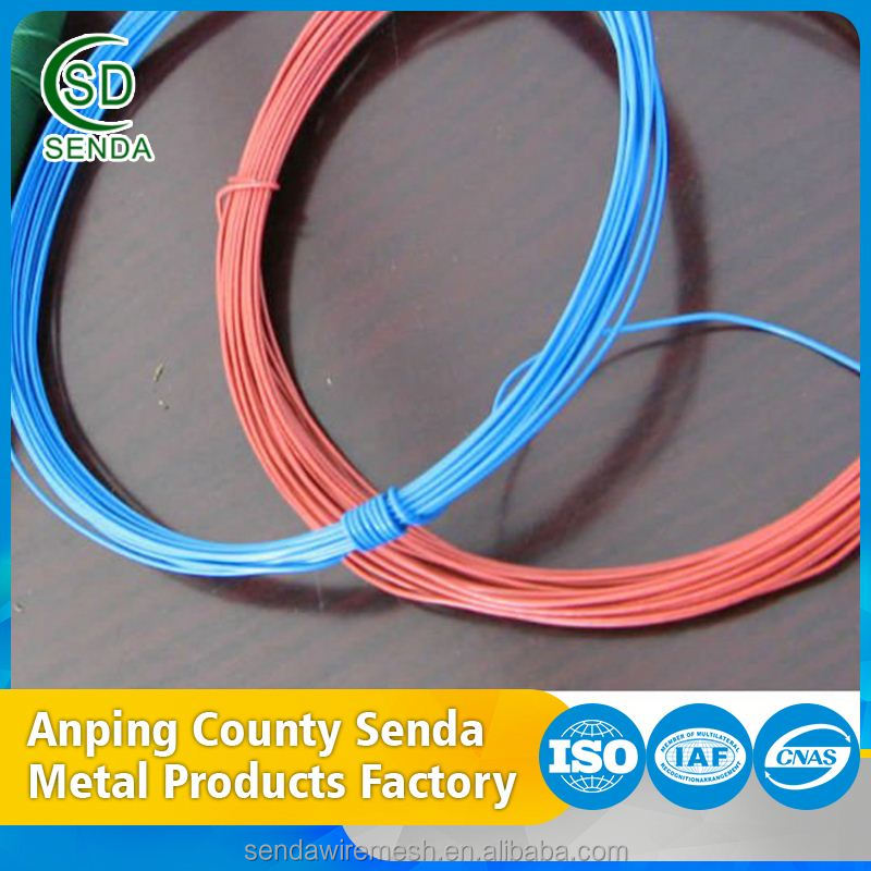 Factory Wholesale Garden Flower Wire Pvc Coated Iron Wire