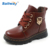 Wholesale Kid Summer Handsome Leather Zipper Boots