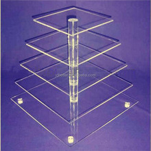 Clear Acrylic Cupcake Display Stand cake tower stand for sale