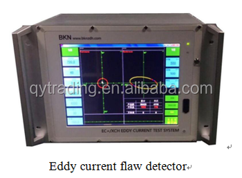 Steel rod rotating point type eddy current flaw detector ECSM-787
