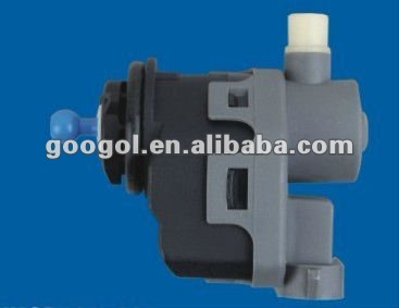 automobile headlamp leveling actuator