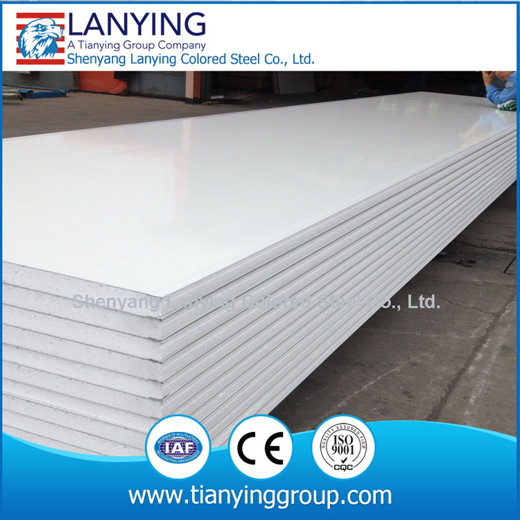 lightweight exterior wall and roof panel , sandwich panel price building mateiral
