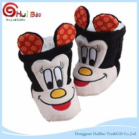 Big Ear Mickey Mouse toys little kids baby using plush stuffed toys shoes