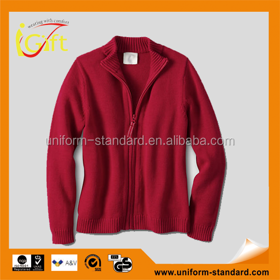 Wholesale top grade school uniform quilted coats