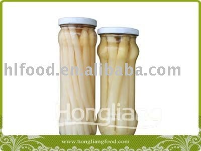 Different size household seal canned white asparagus