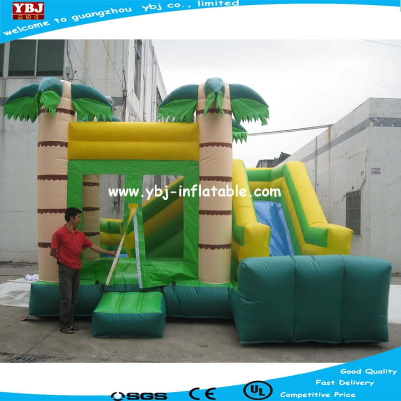 Commerical Inflatable bouncy castle Multiplay Auto inflatable bouncer