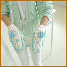 fiver finger winter how to make baby glove women working