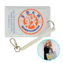new design promotion clear PVC/plastic name card holder