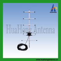 CDMA outdoor directional yagi antenna 450MHz 6element 9.5dBi