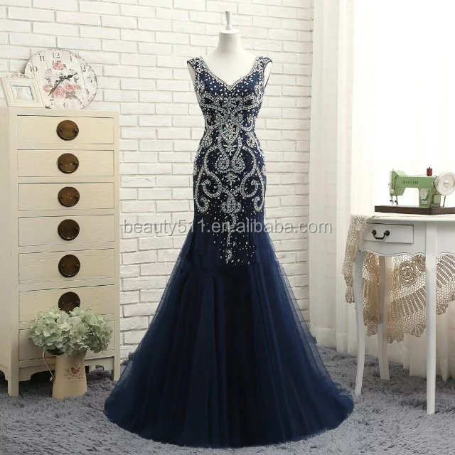 2017 New Style Custom Made Elegant Mermaid Sweetheart lace and satin formal long evening dress prom dresses ED550