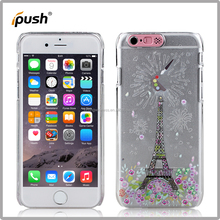 colored drawing + flashing cartoon PC mobile phone case for iphone5