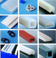 Heat -resistant Silicone rubber seal strip for the window glass
