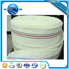 White woven jacket PVC lining fire hose of high quality