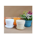 China Factory custom Small Plastic Parts injection moulding colorful different types flower pots