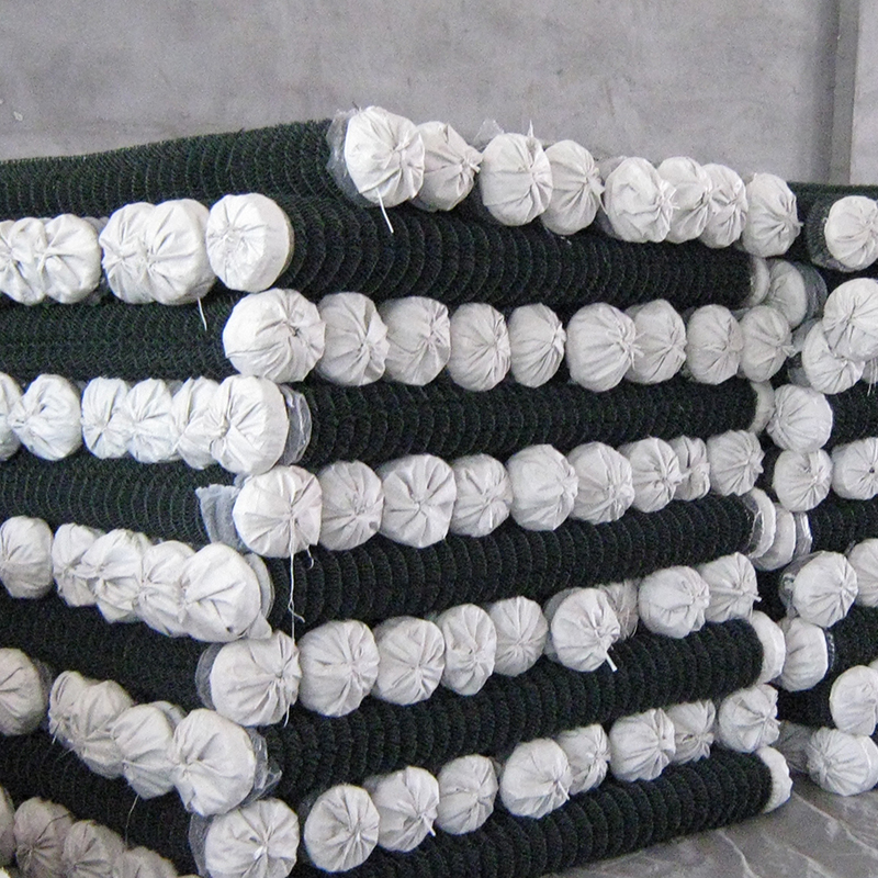 Used 4x10 steel chain link wire mesh fencing sport for sale