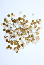 tissue paper confetti circles Tissue Paper Confetti Tissue Paper Confetti Colors Metallic Gold, Kraft, White