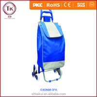 good quality industrial trolley wheels/luggage cart bag/shopping trolley bag with climbing wheels