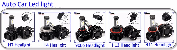 BJ-HL-044D for Jeep car RGB led headlight 7 Inch round led DRL headlamp